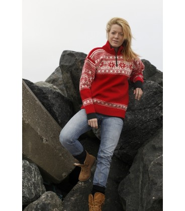 Norsk sweater i uld.
